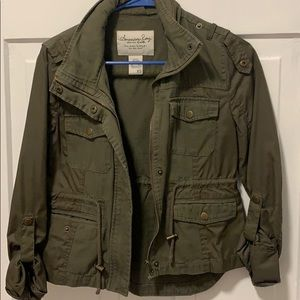 Barely worn American Rag Military Jacket